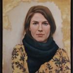 Lisa mit Schal