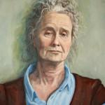 Portrait einer Lehrerin (Detail)