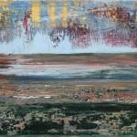 Landschaft mit gelben Schauer